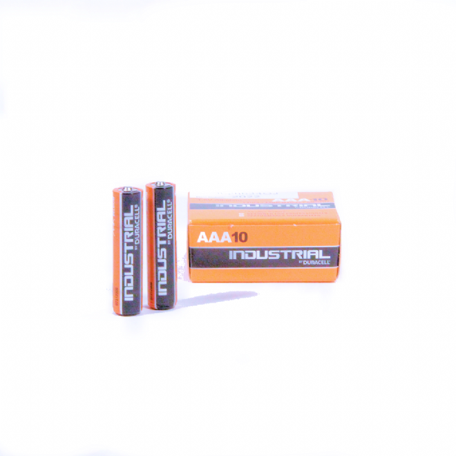 Duracell Industrial LR03/ID2400 AAA Battery (Box of 10)